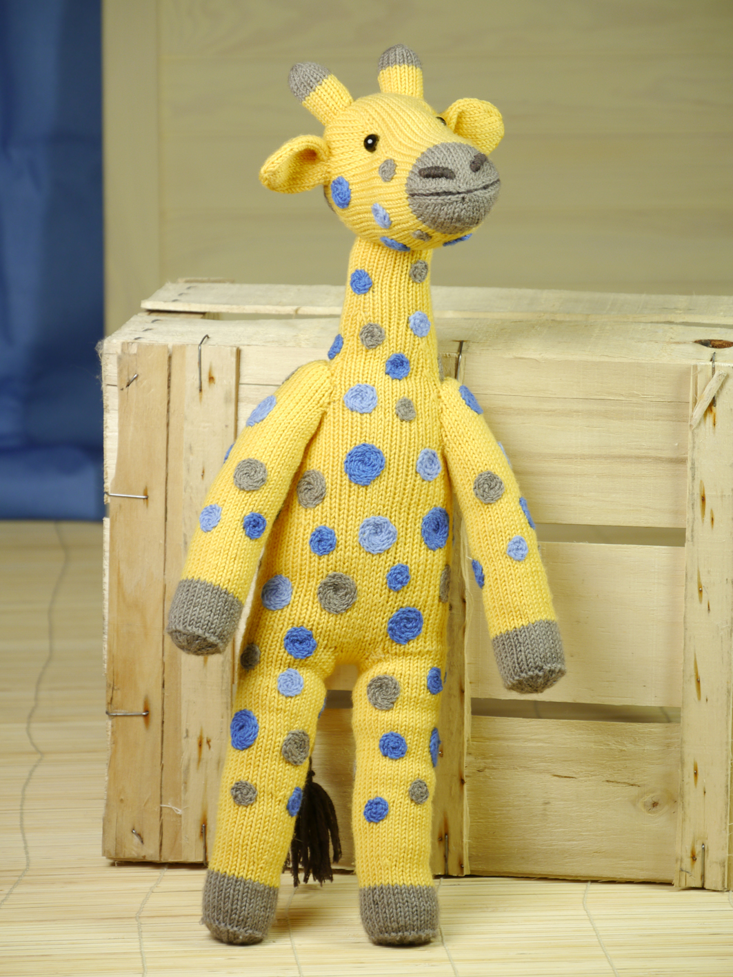 knitting pattern giraffe